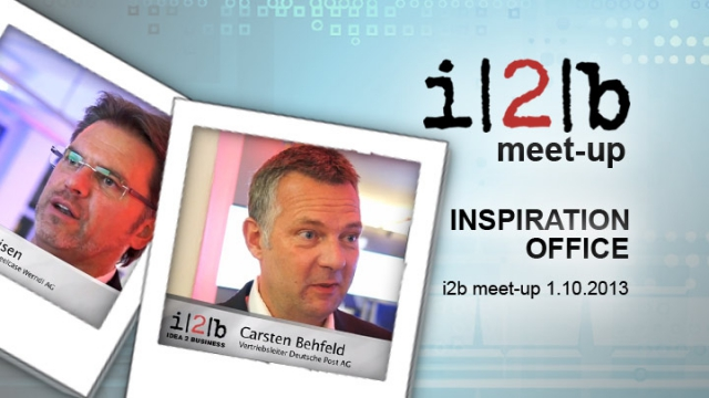 i2b meet-up INSPIRATION OFFICE bei Pro Office Bremen - Imagefilm - Eventvideo mit Frank Ahlers, Carsten Behfeld, Sven Rolfes etc